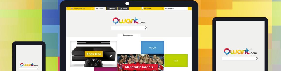 Qwant.com un moteur de recherche français
