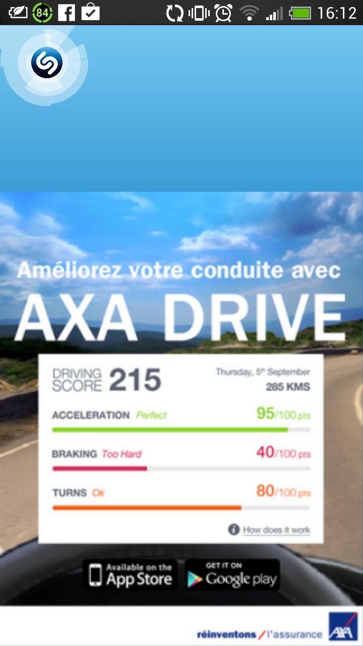 Shazam - Axa Drive